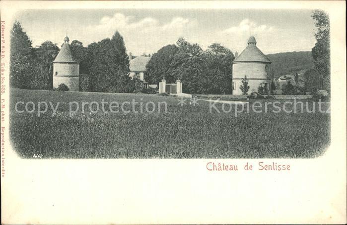 Senlisse Chateau Schloss Kat. Senlisse