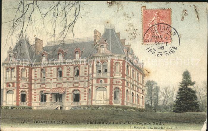 Bonnelles Chateau Schloss Kat. Bonnelles