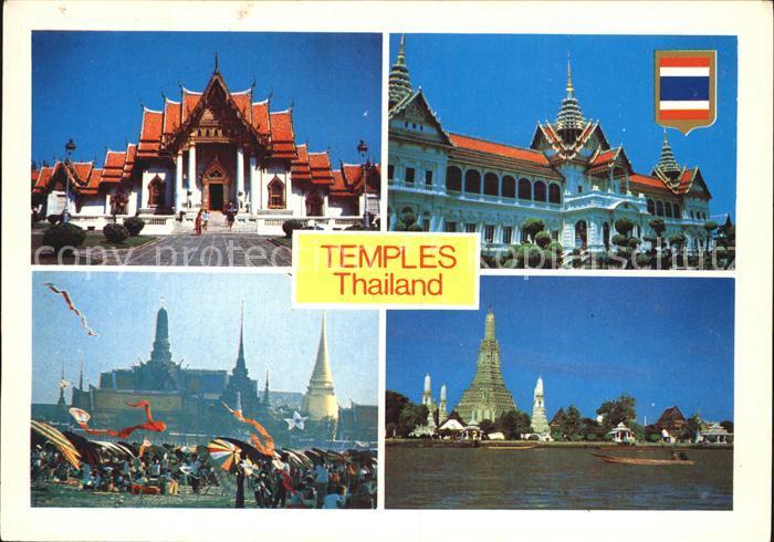Thailand Tempel Kat. Thailand