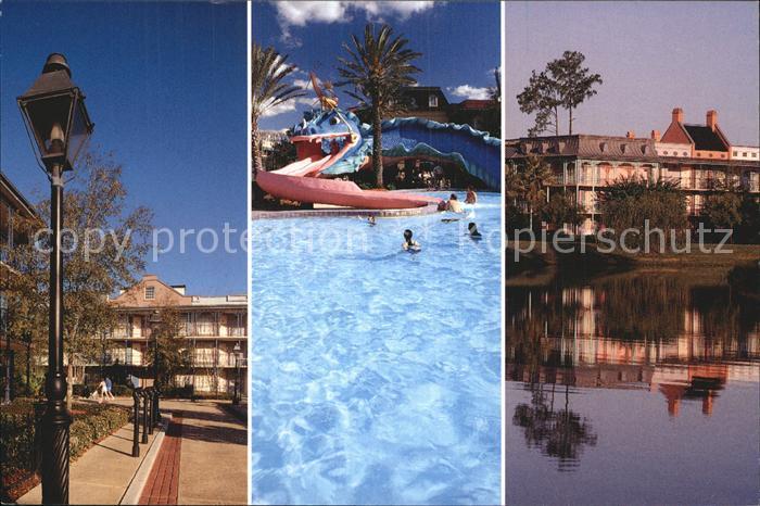 Walt Disney World New Orleans Mardi Gras Disney s Port Orleans Resort  Kat. Lake Buena Vista