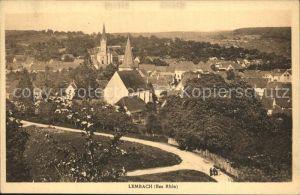 Lembach Bas Rhin Elsass Vue generale Eglise Ortsansicht mit Kirche Kat. Lembach