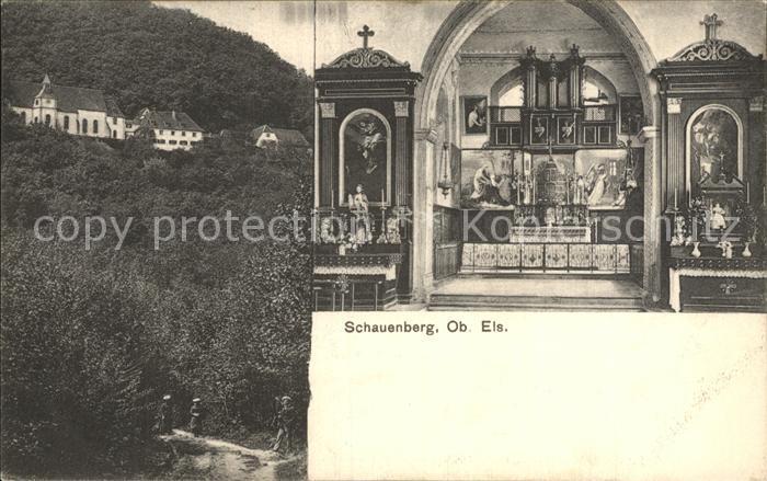 Pfaffenheim Haut Rhin Alsace Chapelle Notre Dame du Schauenberg Kapelle Kat. Pfaffenheim