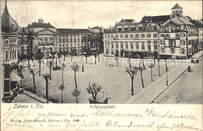 Zabern Saverne Schlossplatz
