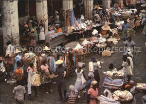 Port au Prince Street market Kat. PORT AU PRINCE