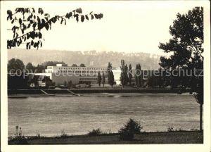 Bonn Rhein Bundeshaus am Rhein Kat. Bonn