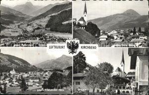 Kirchberg Donau Rettenstein Kitzbueheler Horn Ortspartie Kat. Kirchberg ob der Donau