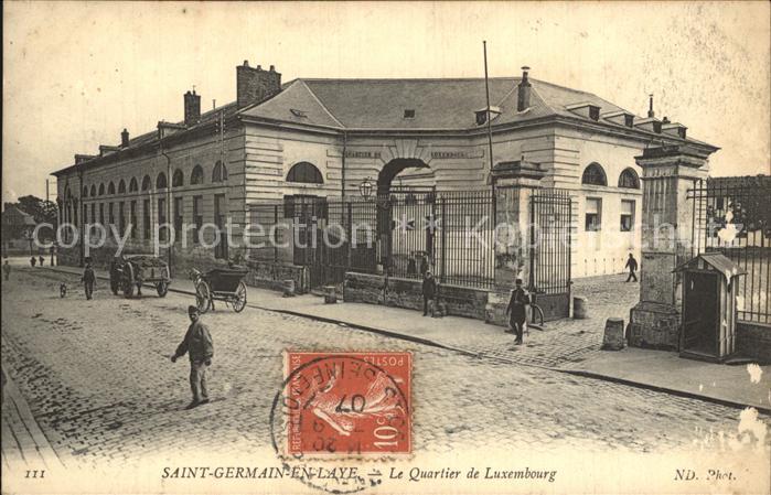 Saint Germain en Laye Quartier de Luxembourg Kat. Saint Germain en Laye