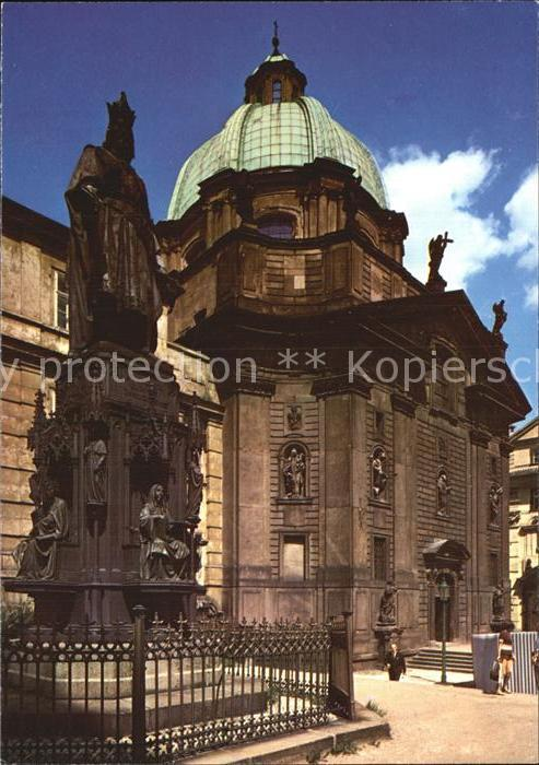 Praha Prahy Prague Kirche Kat. Praha