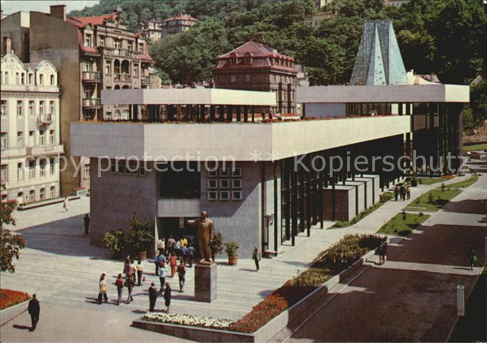 Karlovy Vary Sprudelkolonnade Kat. Karlovy Vary Karlsbad
