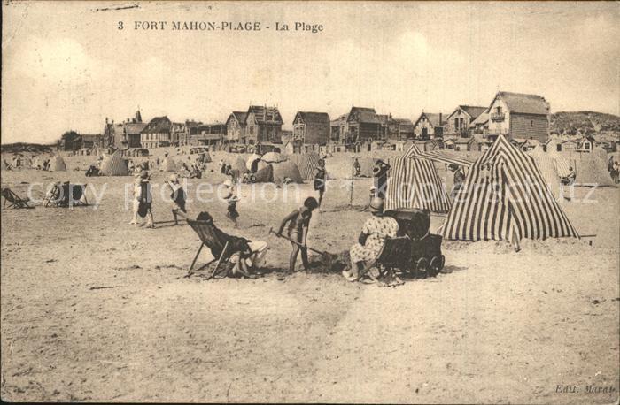 Fort Mahon Plage La Plage Strand Kat. Fort Mahon Plage