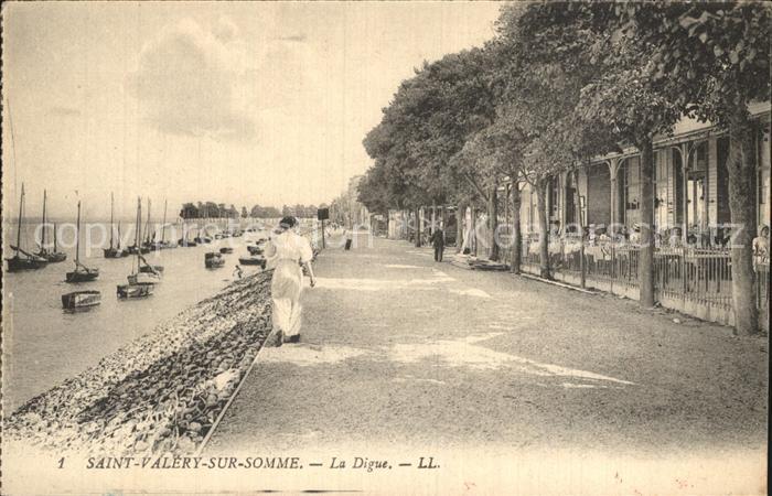 Saint Valery sur Somme La Digue Kat. Saint Valery sur Somme
