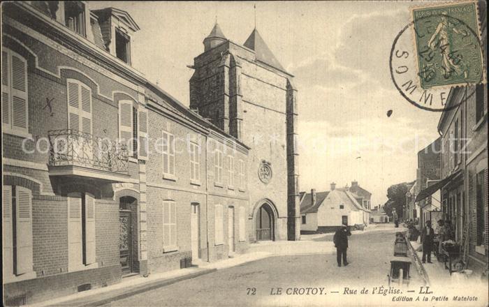 Le Crotoy Rue de l Eglise Kat. Le Crotoy
