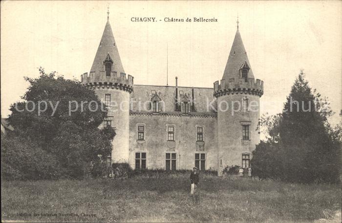 Chagny Saone et Loire Chateau de Bellecroix Kat. Chagny