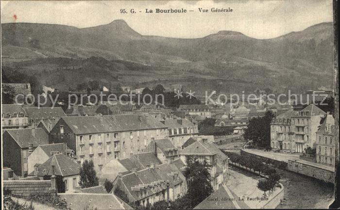 La Bourboule Vue generale Kat. La Bourboule