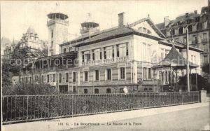 La Bourboule La Mairie et la Poste Kat. La Bourboule
