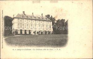 Anizy le Chateau Chateau cote du Parc Schloss Kat. Anizy le Chateau