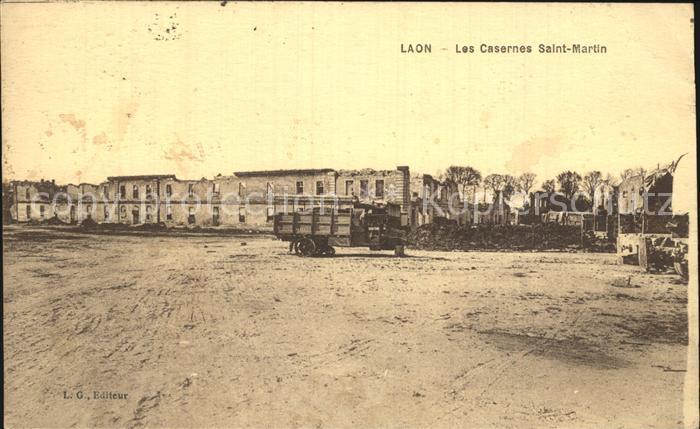 Laon Aisne Les Casernes Saint Martin Kat. Laon