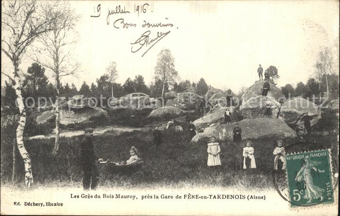 Fere en Tardenois Les Gres du Bois Mauroy pres de la Gare Kat. Fere en Tardenois
