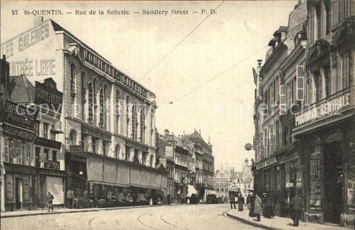 Saint Quentin Rue de la Sellerie Kat. Saint Quentin