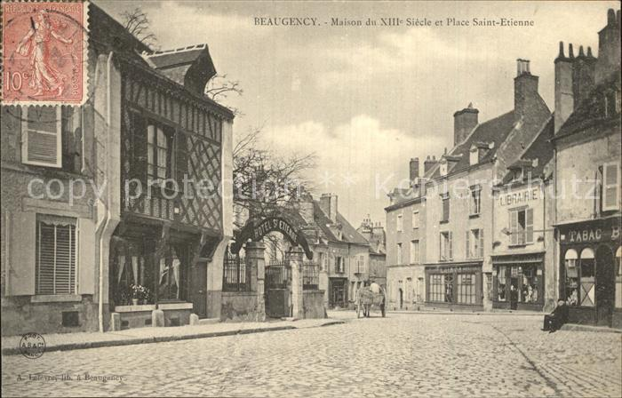 Beaugency Maison du XIII siecle Place Saint Etienne Kat. Beaugency