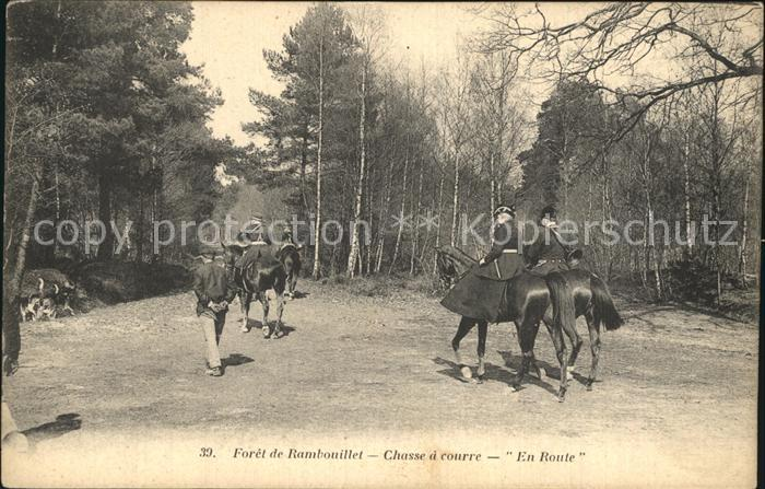 Foret de Rambouillet Chasse a courre