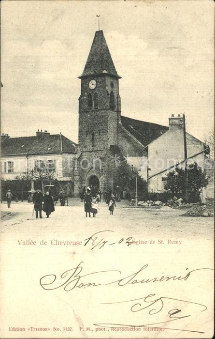 Saint Remy les Chevreuse Eglise Vallee de Chevreuse Kat. Saint Remy les Chevreuse