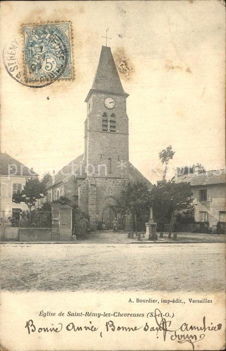 Saint Remy les Chevreuse Eglise Kat. Saint Remy les Chevreuse