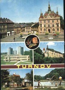 Turnov Zamek Hruby Kat. Turnau