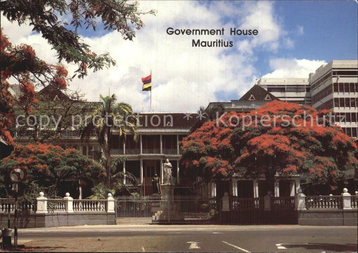 Mauritius Government House Kat. Mauritius