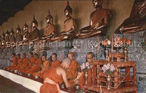 Bangkok Gallery of Buddha Statues Wat Pho Kat. Bangkok