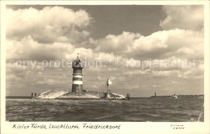 Friedrichsort Leuchtturm Kat. Kiel