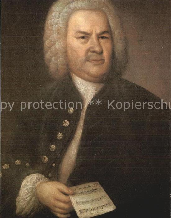 Leipzig Johann Sebastian Bach  Kat. Leipzig