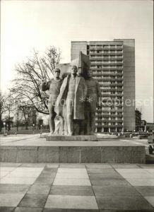 Dresden Lenindenkmal Kat. Dresden Elbe