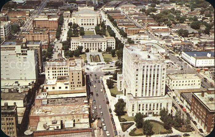Oklahoma City Stadtzentrum Kat. Oklahoma City