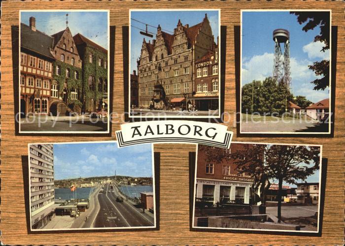 Aalborg Ellen Marsvins Hus Jens Bangs Stenhus  Kat. Aalborg