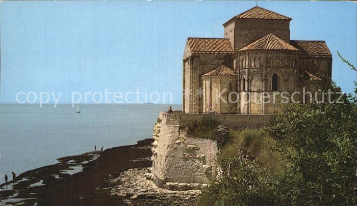 Talmont sur Gironde Kirche Sainte Radegonde Kat. Talmont sur Gironde