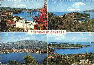 Cavtat Dalmatien Panoramen Kat. Kroatien