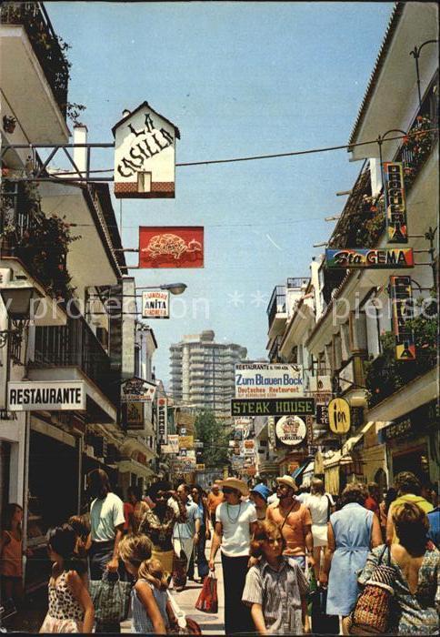 Torremolinos Rue San Miguel Kat. Malaga Costa del Sol