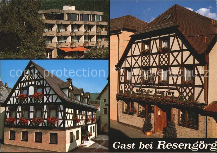 Ebermannstadt Hotel Gasthof Resengoerg Kat. Ebermannstadt