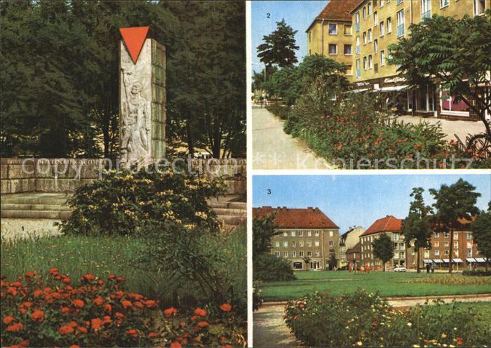 Niesky VVN Ehrenmal Strasse der Befreiung Zinssendorfplatz Kat. Niesky
