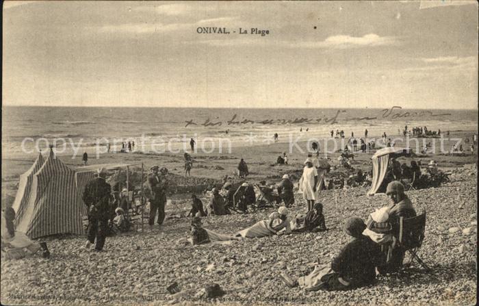 Onival sur Mer La Plage Strand