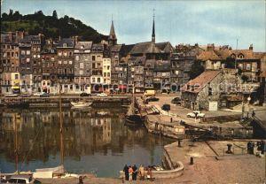 Honfleur Le quai Sainte Catherine et le bassin Kat. Honfleur