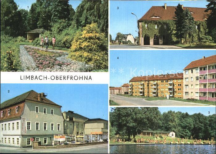 Limbach Oberfrohna Stadtpark HOG Voelkerfreundschaft Kreiskulturhaus ...