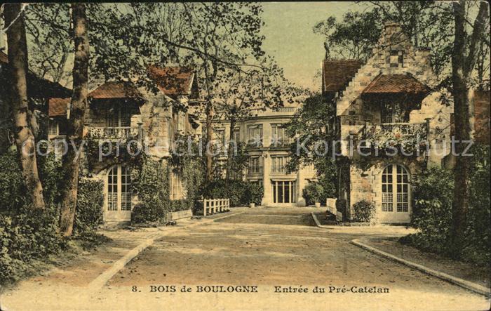 Bois de Boulogne Entree du Pre Catelan