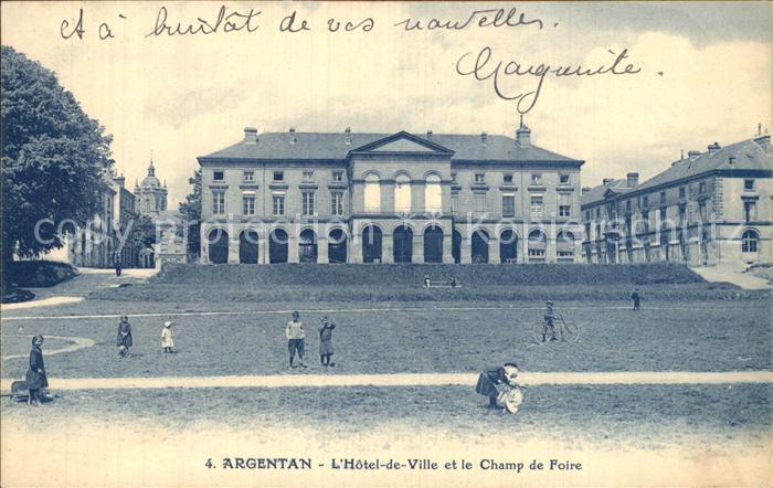 Argentan Hotel de Ville et le Champ de Foire Kat. Argentan