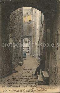 Vieux Menton Rue du Vieux Chateau