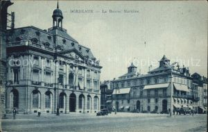 Bordeaux La Bourse Maritime Kat. Bordeaux