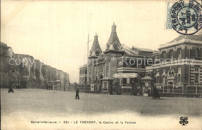 Le Treport Casino et la Falaise Kat. Le Treport
