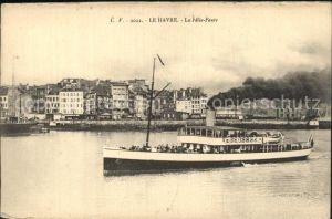 Le Havre Le Felix Faure Bateau Kat. Le Havre