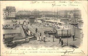 Le Havre Vue sur le Bassin du Commerce Kat. Le Havre